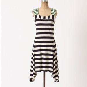 *Anthropologie Monogram Striped Dress KF8